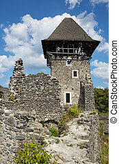 Ruins of the Nevitsky castl. The castle was built in the...