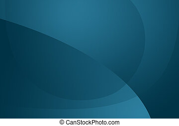 Modern blue wallpaper / background in mac style