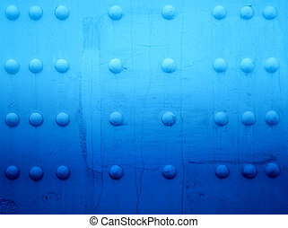 Texture unusual wall volume - Bright blue design texture...