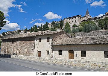 View of Spello Umbria