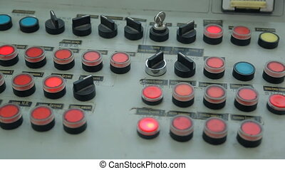 On the mechanism of the control panel flashes a lot of...