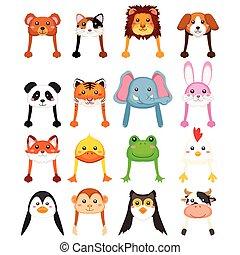 Animals Cartoon Hat