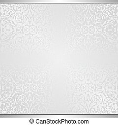 gray background with vintage pattern