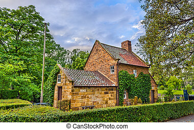 Captain Cook's Cottage in Fitzroy Garden - Melbourne,...