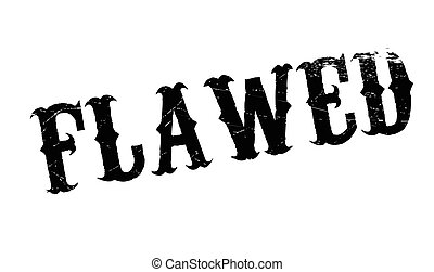 Flawed rubber stamp. Grunge design with dust scratches....