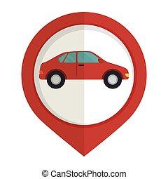 car sedan vehicle icon