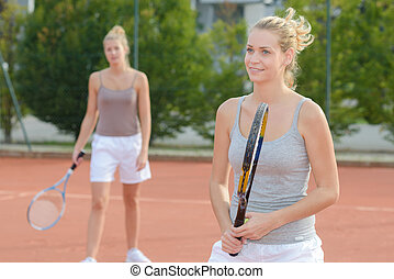 first tennis session