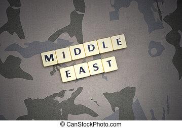 概念, 信件, 背景, 正文, 中間, 卡其布, 軍事, 東方