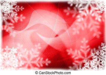 Extracto, navidad, Plano de fondo, marco
