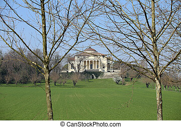ancient Venetian Villa designed by architect Andrea Palladio...