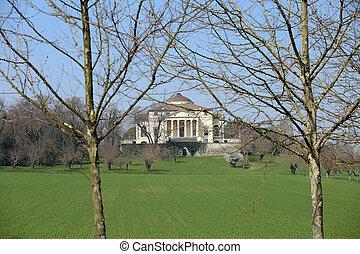 ancient Venetian Villa designed by architect Andrea Palladio...