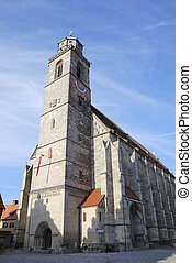 Minster of Dinkelsbhl - Minster St Georg of Dinkelsbhl in...