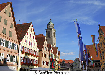 Historic Dinkelsbhl - Historic center of Dinkelsbhl...