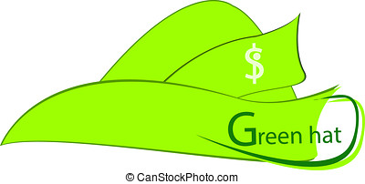 Green hat - make money with green hat