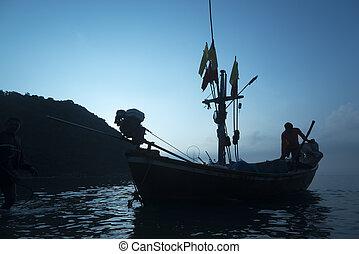 A lake at Sam Roi Yod National Park, Prachuap Khiri Khan,...