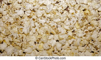 Popcorn sweet closeup.