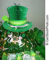 Irish Saint Patricks Day Decorations - Lighted Saint...