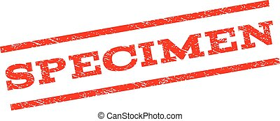 Specimen Watermark Stamp - Specimen watermark stamp. Text...