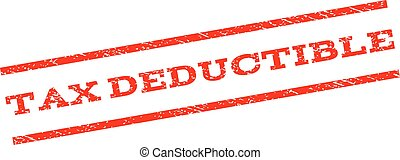 Tax Deductible Watermark Stamp - Tax Deductible watermark...