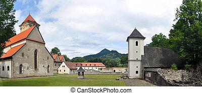 Red cloister - Red Cloister (slovak: Cerveny klastor)...