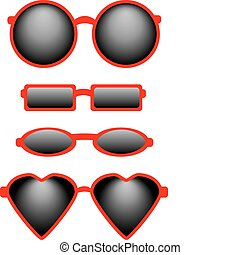 Set of Four Sunglasses