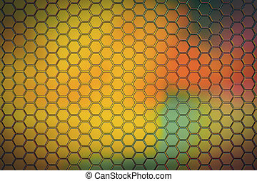 Color triangular background. 3D Rendering