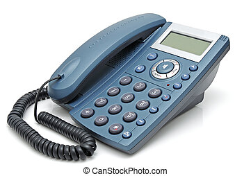 Telephone with liquid-crystal display - Digital telephone...
