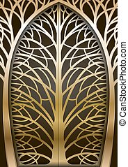 Fabulous Golden Gate - Golden Gate forging a fabulous tree....