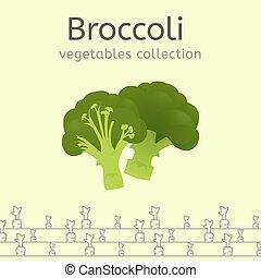 grönsaken, avbild, Kollektion