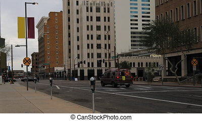 Timelapse of the downtown in Phoenix - A Timelapse of the...