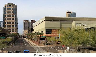 Timelapse of street scene in Phoenix