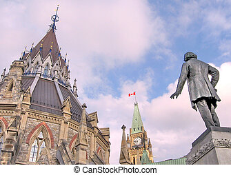 Ottawa Parliament Centre May 2008 - Centre of Canadian...