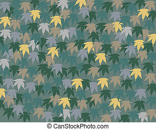 Maple leaves - Background vector design of maple leaves