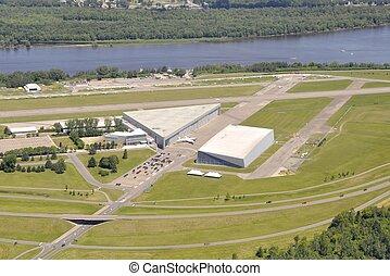 Rockcliff Ottawa airport aerial