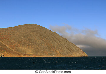 Cape Dezhnev, the easternmost point of continental Eurasia...