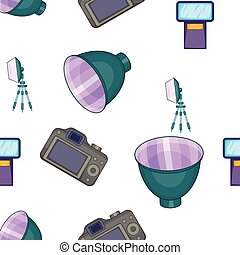 Photographic pattern, cartoon style - Photographic pattern....