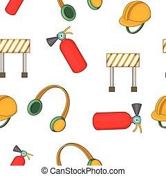 Repairs pattern, cartoon style - Repairs pattern. Cartoon...