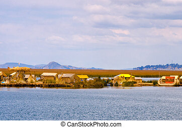 Manmade Floating Islands View - View of the manmade floating...