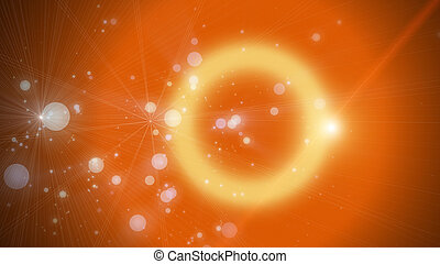 Futuristic particle background design illustration with...