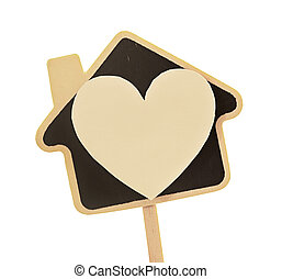 house of love (heart and house symbol)
