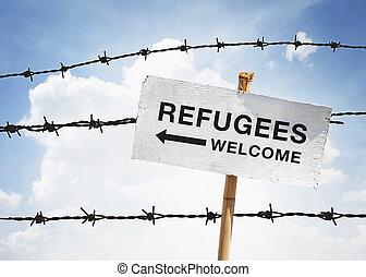 bem-vindo,  refugees