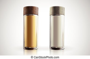 cosmetic bottle models - transparent cosmetic bottles, one...