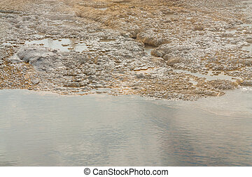 Watery Textures - Textures located in the Old Faithful area...