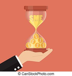 Time is money for Small and Medium Enterprise. Business...