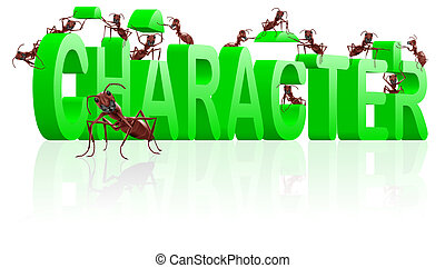 character building therapy to individuality