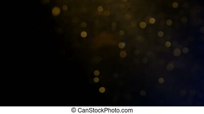 Abstract Underwater Background With Bubbles In Bokeh