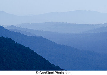 View of Khao yai National Park, Thailand
