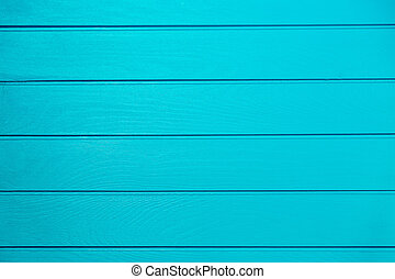 Turquise wooden background