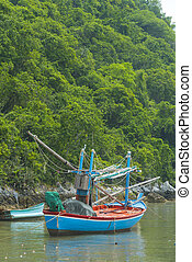 Fishing village in Mui Ne, Vietnam, Southeast Asia
