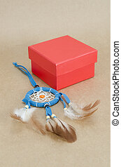 dream catcher with gift box